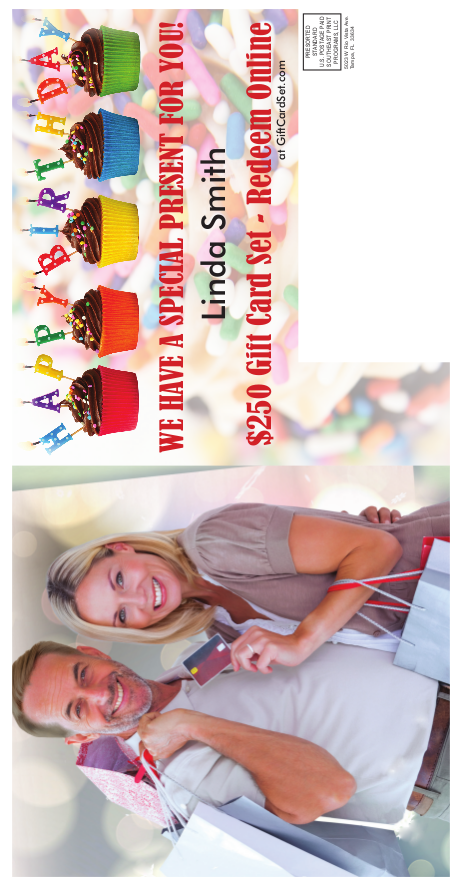 Birthday Mailer Promotion Per 1000 Cards Mailed